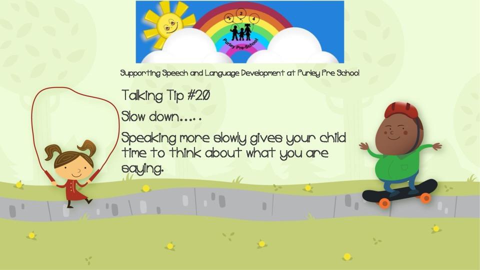 Talking Tip #20