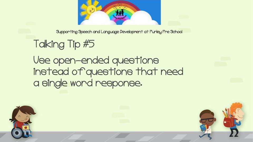 Talking Tip #5