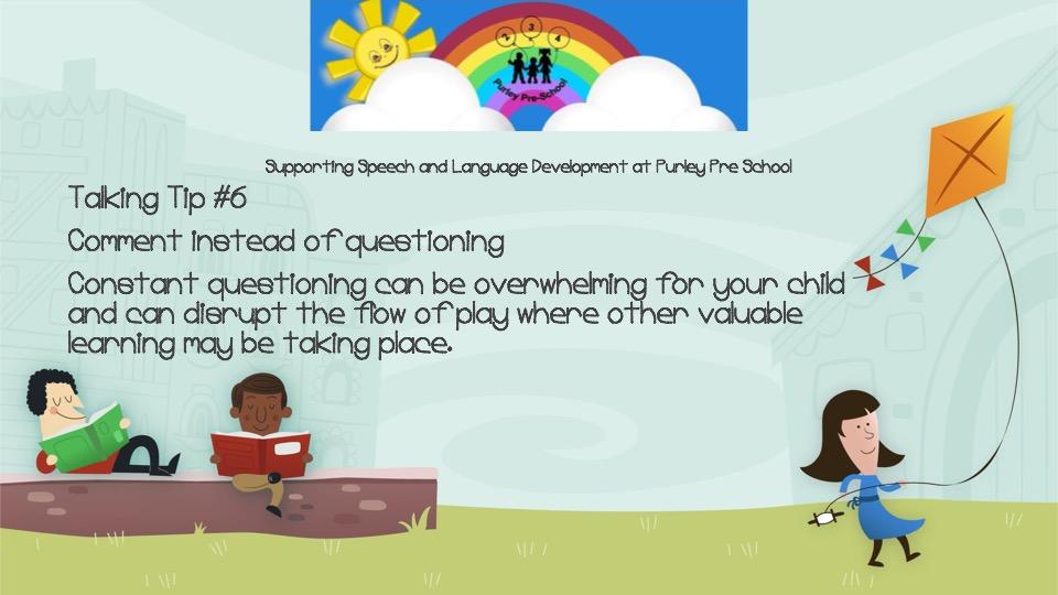 Talking Tip #6