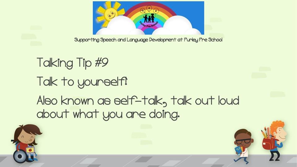 Talking Tip #9